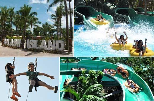 50 Off All Day Pass To Splash Island Laguna Philippines