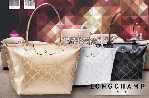 58% off Longchamp Maroquinerie Metallic Collection Tote Bag Promo