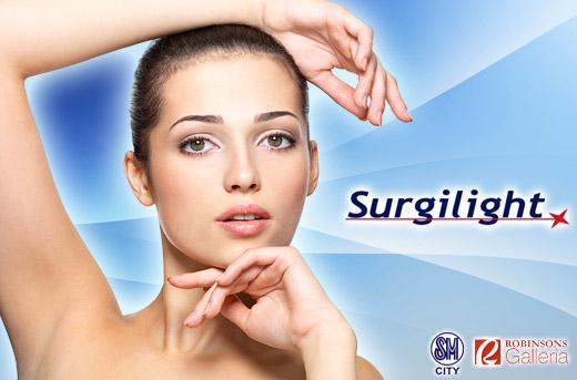 97 Off Surgilight S Ipl Hair Removal Or Whitening Promo