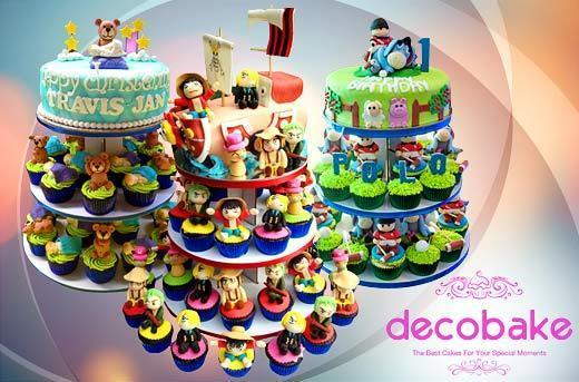 Fine 41 Off Decobakes Tower Cake Promo Personalised Birthday Cards Beptaeletsinfo