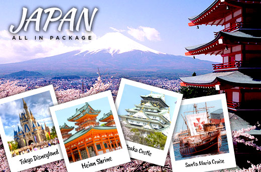 43% Off 5 Days & 4 Nights in Japan Tour Package Promo