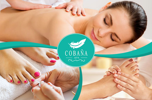 40% Off Whole Body Massage & More Promo at Cobana Feather Spa