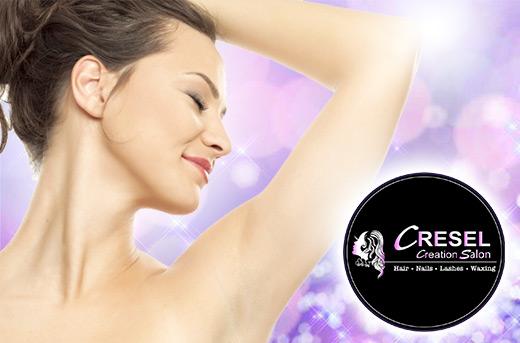 88 Off Ipl Underarm Hair Removal Promo At Cresel Creation Salon